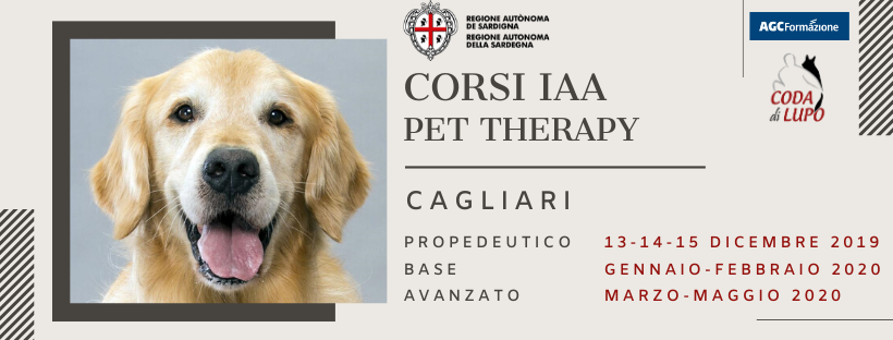 Corsi di formazione pet therapy Cagliari Sardegna