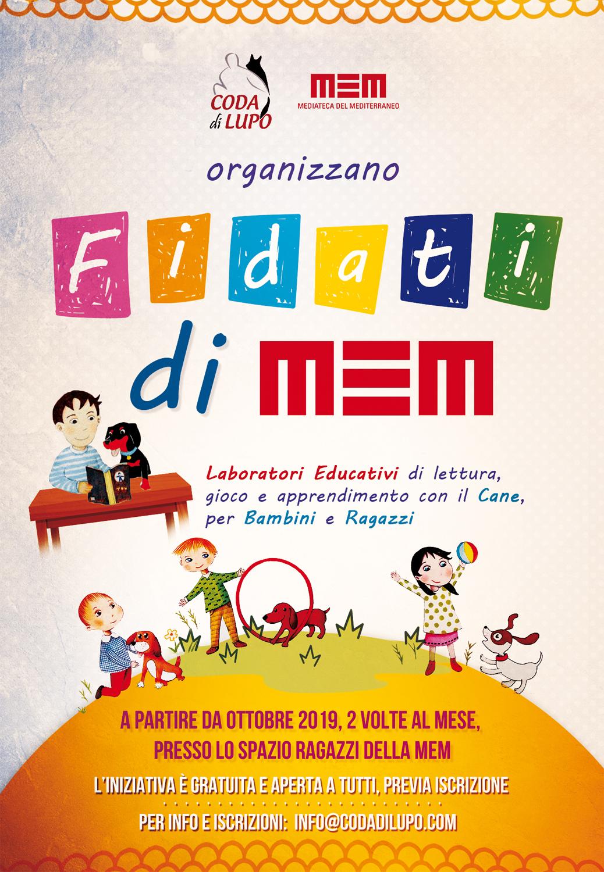 Laboratori di pet therapy alla MEM Mediateca del Mediterraneo a Cagliari